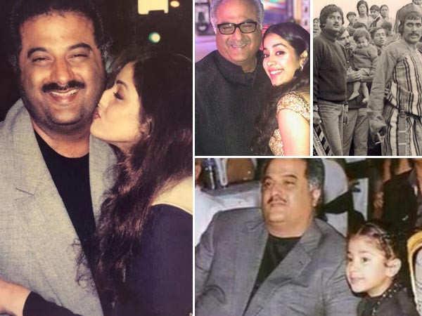 Janhvi Kapoor's birthday wish for dad Boney Kapoor is all things love