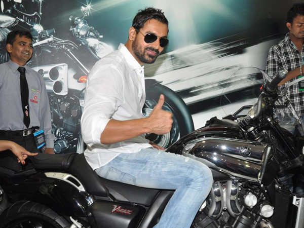 Exclusive! John Abraham to produce and star in a biker flick