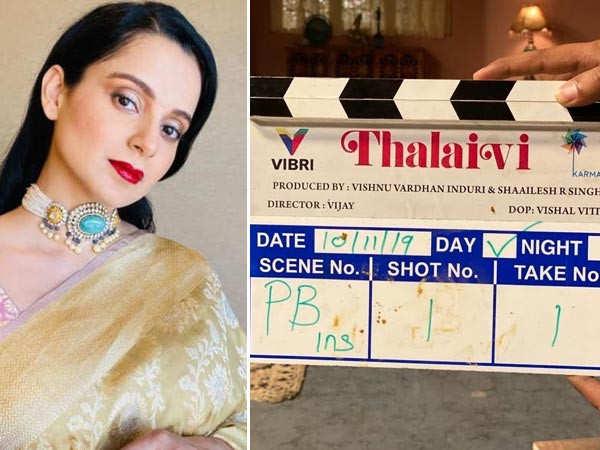 Kangana Ranaut's Jayalalitha biopic goes on floors