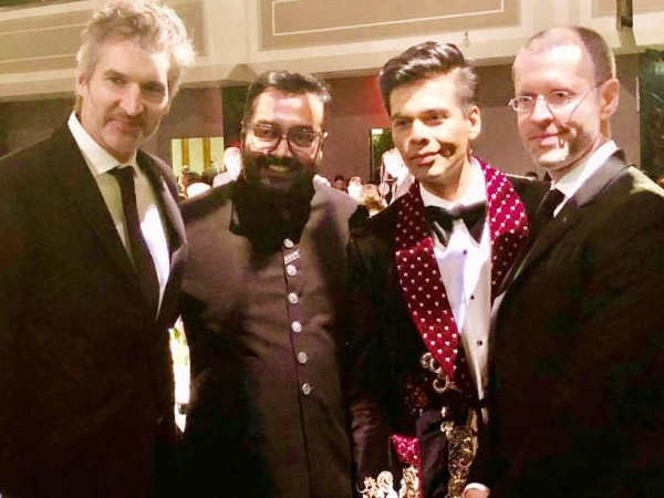 Karan Johar meets Game of Thrones writers at the Emmys