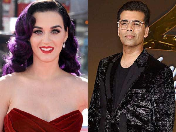 Karan Johar to throw a bash for singer Katy Perry