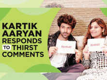 Kartik Aaryan responds to thirst comments