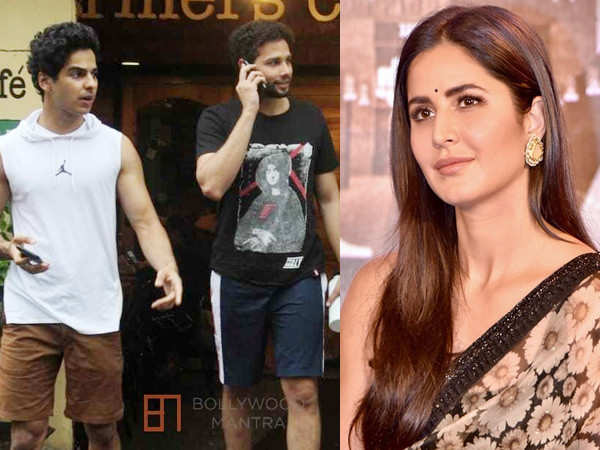 Katrina Kaif to team up with Ishaan Khatter and Siddhant Chaturvedi?