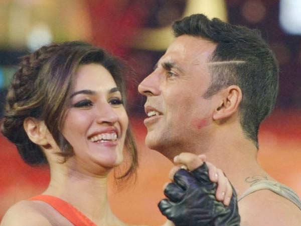 Kriti Sanon is the leading lady in Akshay Kumar's Bachchan Pandey