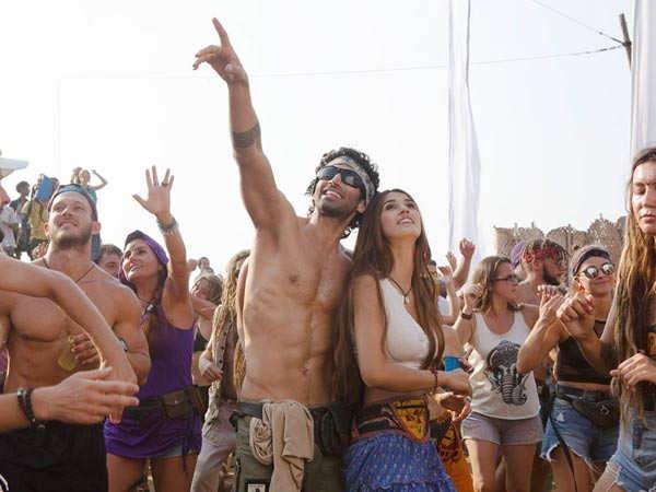 Disha Patani and Aditya Roy Kapur enjoy a beach party in the first look of Malang