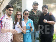 Team Marjaavaan spotted at the special screening of the film