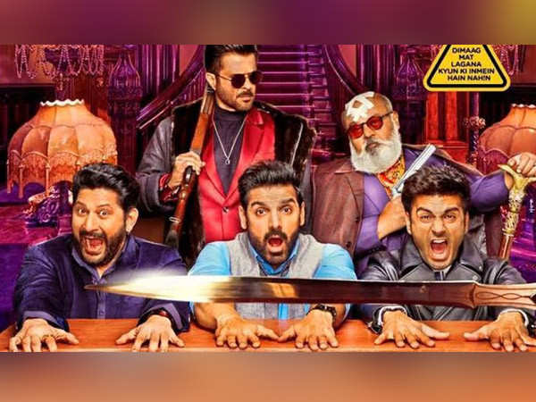 John Abraham and Anil Kapoor starrer Pagalpanti has a slow start at the box-office