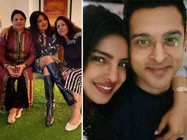 Priyanka Chopra enjoys some family time in New Delhi