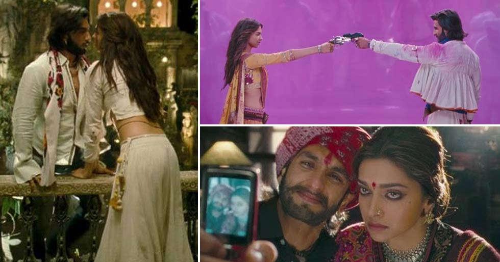7 memorable scenes from Ranveer Singh and Deepika Padukone ...