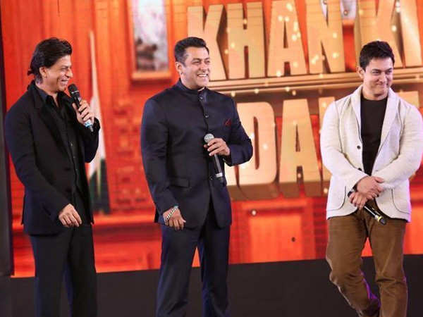 Shah Rukh Khan, Salman Khan and Aamir Khan set to work together?