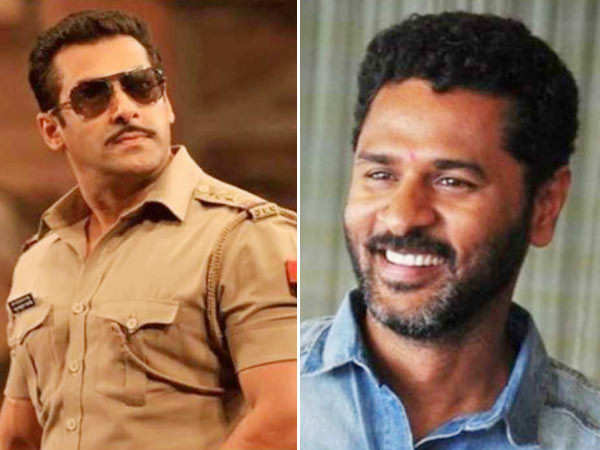 Salman Khan and Pabhudheva to have a dance off in Dabangg 3