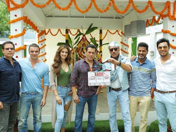 Salman Khan and Disha Patani begin shooting for Radhe