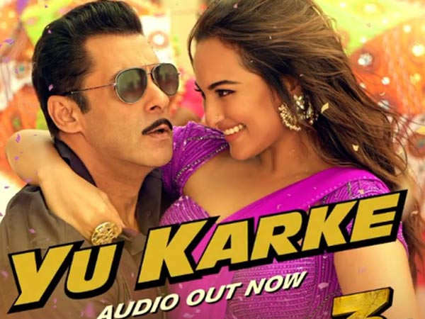 Salman Khan releases a song sung by him in Dabangg 3