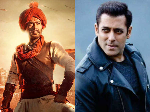 Salman Khan reacts to the trailer of Tanhaji: The Unsung Warrior