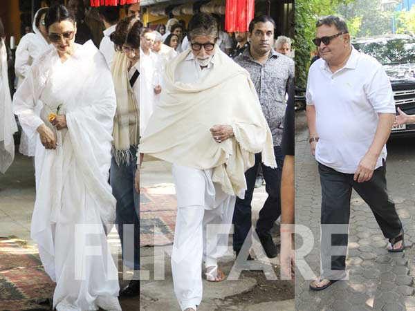 Bollywood stars mourn the demise of Shabana Azmi's mother Shaukat Kaifi
