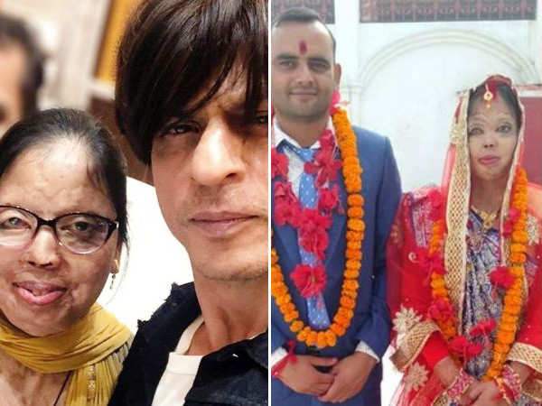 Shah Rukh Khan's gesture for an acid attack survivor is adorable