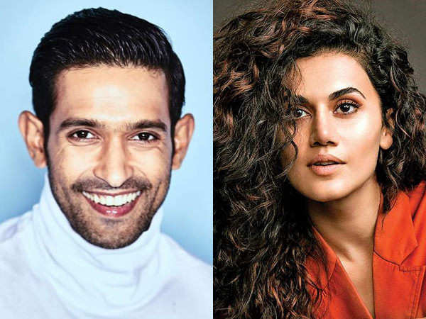 Taapsee Pannu and Vikrant Massey to work together in a romantic -thriller