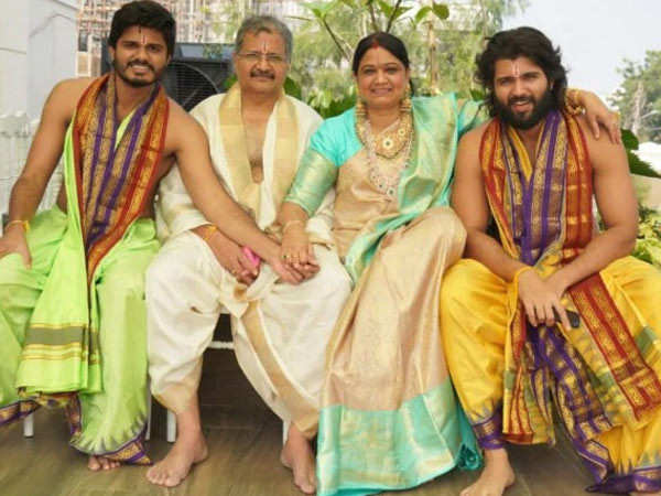Check out these pictures of Vijay Deverakonda's new bungalow in Hyderabad