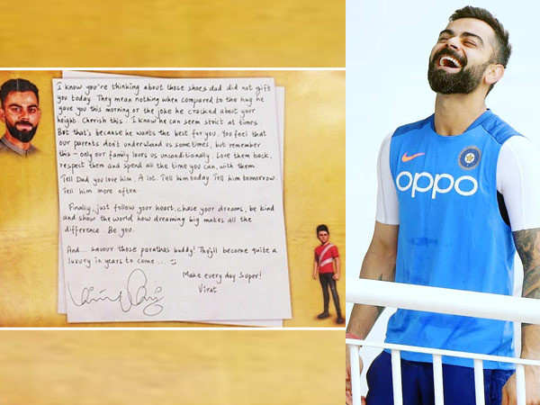 Virat Kohli's note to himself on his 31st birthday is super inspiring