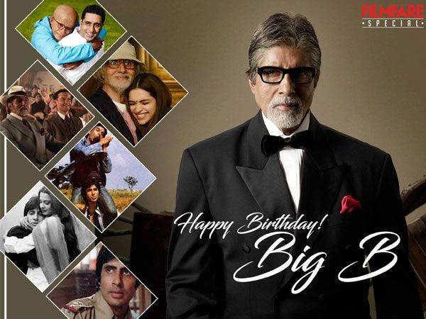 77 reasons why we love Amitabh Bachchan