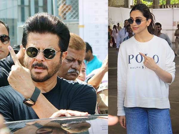 Deepika Padukone, Anil Kapoor, Hrithik Roshan and more step out to vote