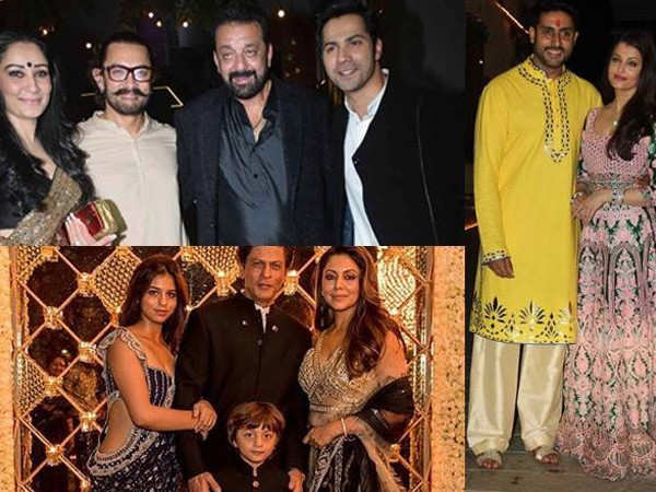 Best Diwali party hosts of Bollywood