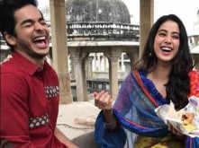 Janhvi Kapoor cooks Biryani for Shahid Kapoor and Ishaan Khatter
