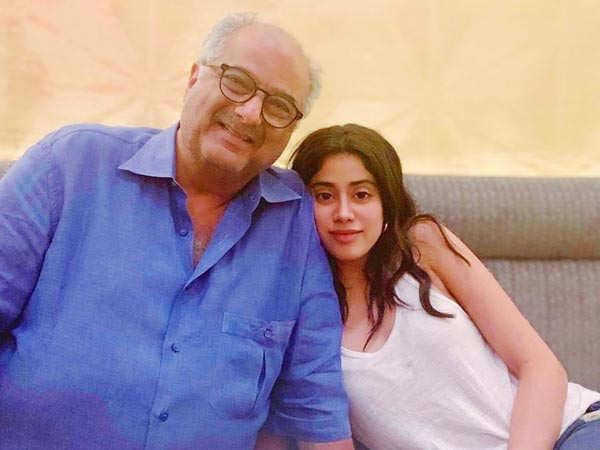 Janhvi Kapoor teams up with father Boney Kapoor for Bombay Girl