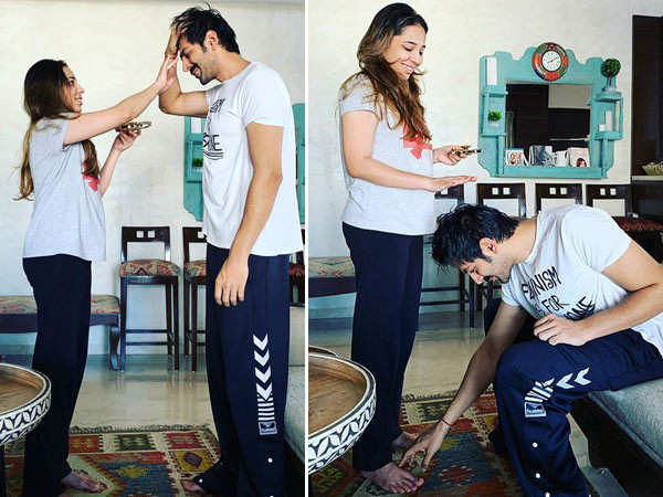 Kartik Aaryan shares an adorable post with his sister on Bhaidooj