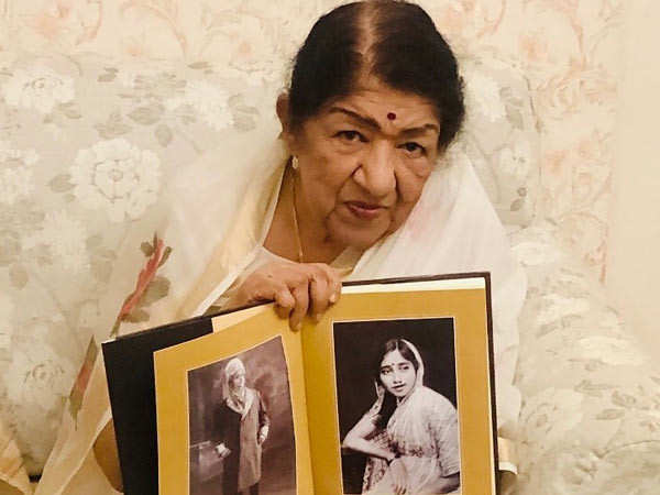 Legendary singer Lata Mangeshkar makes her Instagram debut