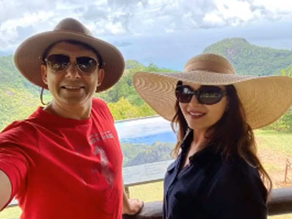 Photos: Madhuri Dixit Nene's having the time of her life in Seychelles