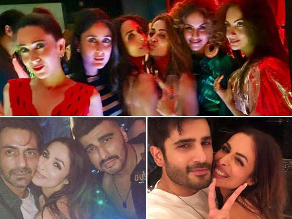 All inside pictures from Malaika Arora's big birthday bash