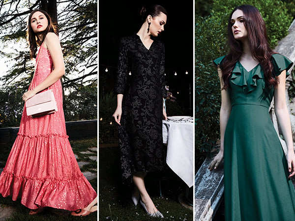 Ditch ethnic wear for these trendy maxi dresses for the festive season