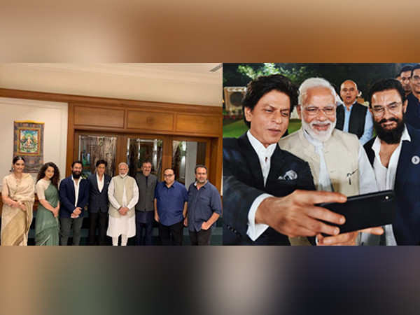 Shah Rukh Khan, Aamir Khan and other B-town celebs meet PM Narendra Modi