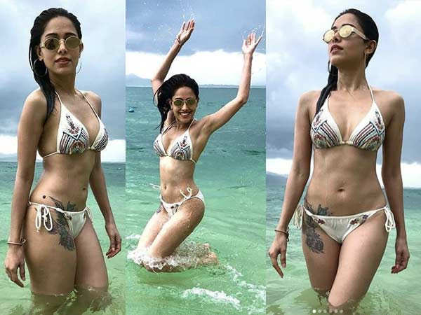 Nushrat Bharucha is raising the mercury in these pictures from her vacay