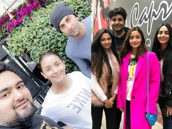Ranbir Kapoor and Alia Bhatt have a fabulous time in London