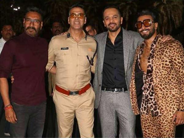 Ranveer Singh and Ajay Devgn join Akshay Kumar for Sooryavanshi's climax