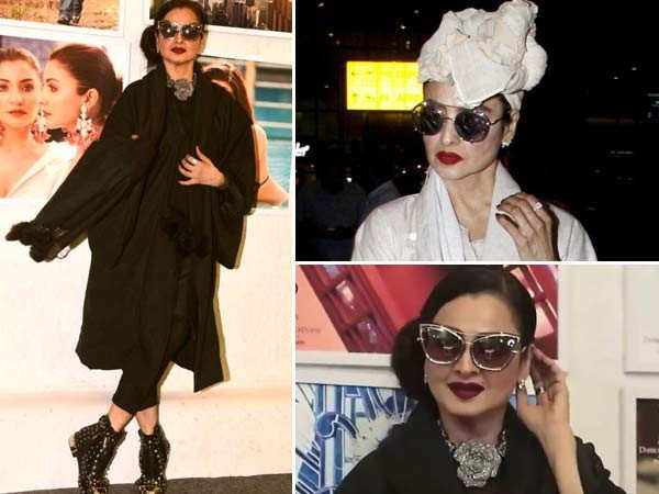 7 recent looks of Rekha that prove that she is an evergreen diva