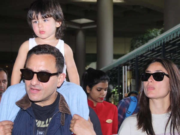 Taimur Ali Khan does not liked getting clicked, reveals Saif Ali Khan