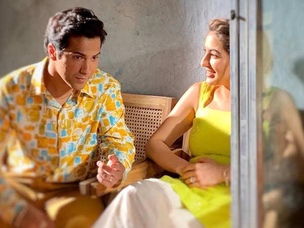 Sara Ali Khan has found a perfect teacher in co-star Varun Dhawan