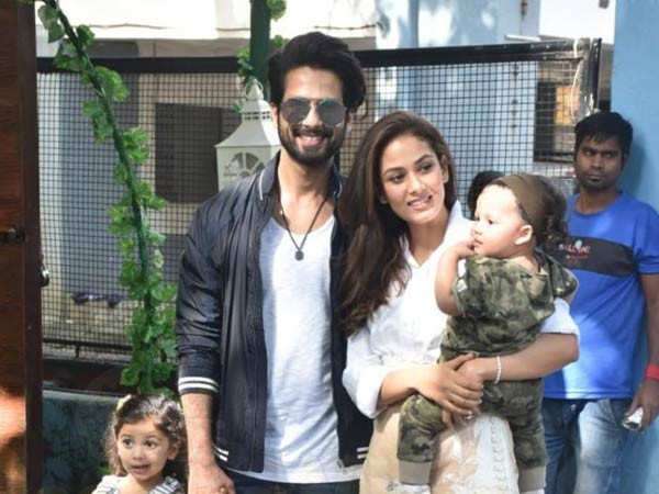 """Sometimes it's nice, sometimes frustrating"" – Shahid Kapoor on fatherhood"