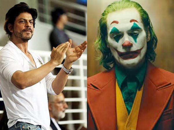Shah Rukh Khan shares his thoughts about the movie Joker
