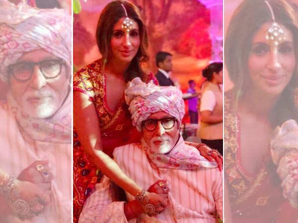 Amitabh Bachchan's doting daughter Shweta Bachchan has a heartfelt birthday message for him