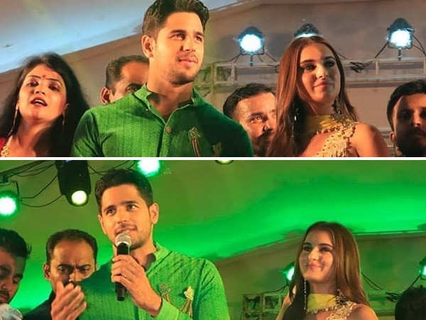 Sidharth Malhotra and Tara Sutaria promote Marjaavaan in Ahmedabad