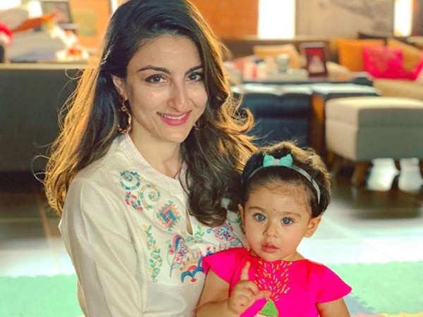Soha Ali Khan celebrates her 41st birthday with family