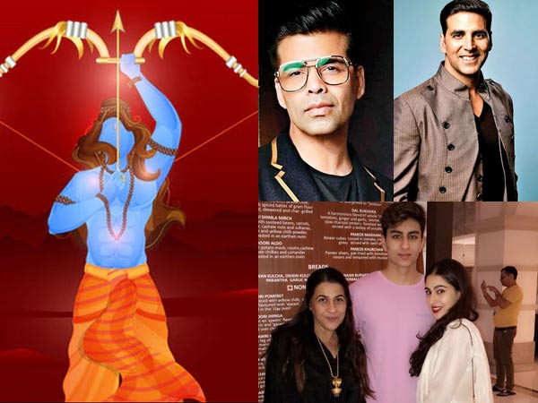 Bollywood stars send out special wishes on Dussehra