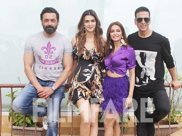Team Housefull 4 steps out to promote the film looking fabulous