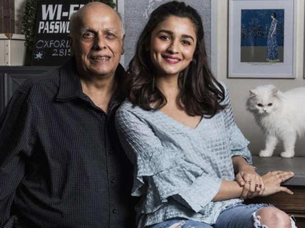 Alia Bhatt is excited to work with her father Mahesh Bhatt in Sadak 2