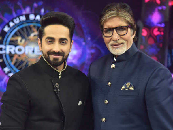 """Amitabh Bachchan is an institution."" Ayushmann Khurrana"
