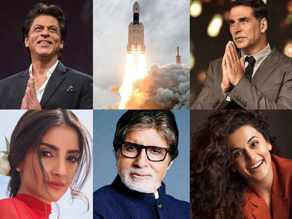Chandrayaan 2: Bollywood celebs applaud ISRO for it's effort